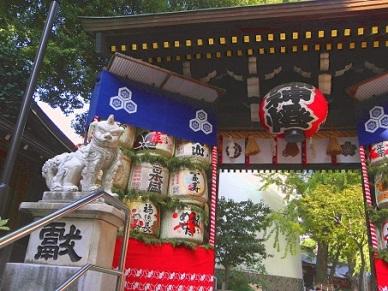 櫛田神社の中にある神社