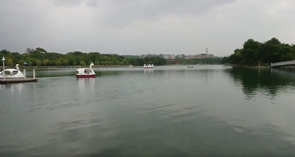 福岡の公園(大濠公園)
