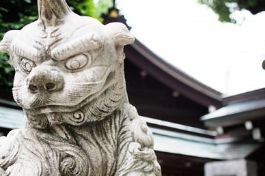 それぞれのパワースポット(神社)