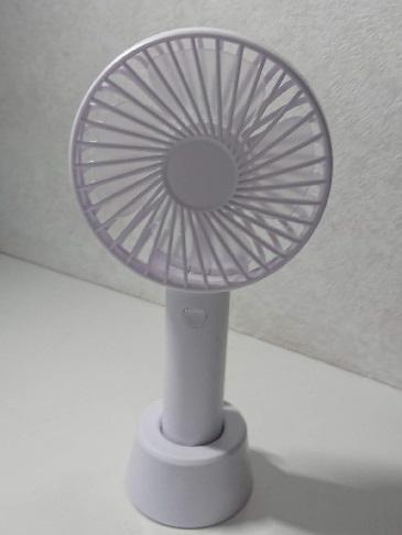 ハンディ扇風機を始めて買った!