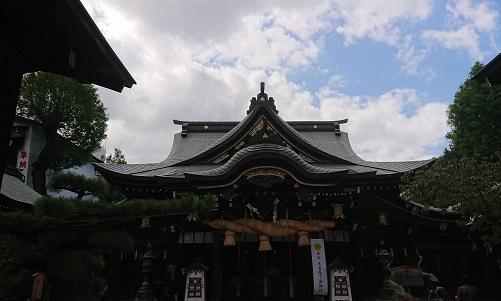 櫛田神社(お櫛田さん)によく行くよ