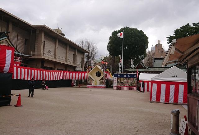 櫛田神社の節分祭